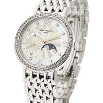 Patek Philippe Lady''s Calatrava with Moon Phase on...