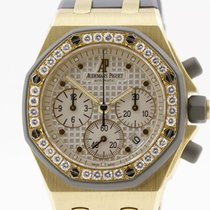 Audemars Piguet Offshore Lady Chronograph in 18K yellow gold...