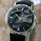 Omega Seamaster Deville 1970s Swiss Made Diamond Dial Men'...