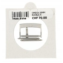 Omega 20mm Polished Steel Buckle