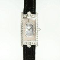 Harry Winston [NEW] Avenue C Emerald quartz 18K white gold...