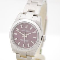 Rolex Lady Oyster Perpetual Red Grape Box & Papiere 2016