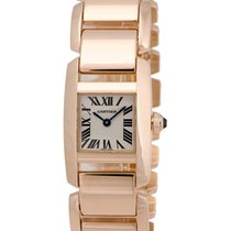 Cartier Tankissime 18K Rose Gold Ladies Watch – W650048H-SD