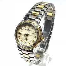 Baume & Mercier 26mm  Riviera 18k Gold & Ss Ladies...