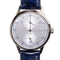 Patek Philippe New  Complications White Gold Silver Automatic...