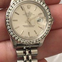 Rolex Ladies Ss Date 79160 Quickset Circa 1999 Silver Index...