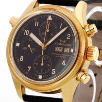 IWC Doppelchronograph Gelbgold Ref.IW3711