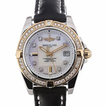 Breitling Galactic 32 Quartz Steel Rose Gold