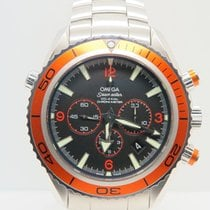 Omega Seamaster Planet Ocean Chronograph Orange (Complete Set)