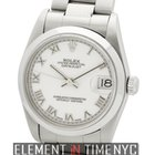 Rolex Datejust Mid-Size 31mm Stainless Steel White Roman Dial...