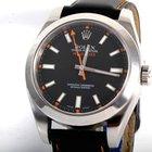 "Rolex Mens ""New Style"" Milgauss - Black Dial - 116400"