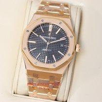 Audemars Piguet Rose Gold Royal Oak On Bracelet 41mm 15400OR.O...