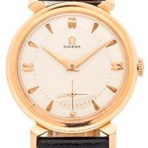 Omega Dress Watch 18K Pink Gold 1954