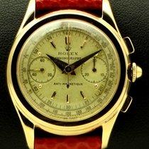 Rolex Piccolino, Vintage Chronograph ref.3055,18 kt rose gold