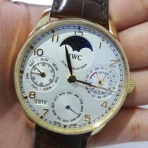 IWC Portuguese Perpetual Calendar Moonphase Pink Gold