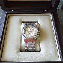 Audemars Piguet Royal Oak Chronograph Chrono Stahl Steel White...