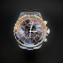 Chanel J12 chronographe Automatique Céramique Noire 41 mm