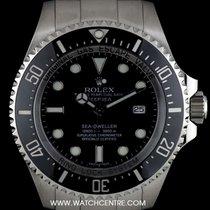 Rolex S/Steel O/P Black Dial Deepsea Sea-Dweller 116660