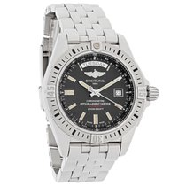 Breitling Galactic 44 Mens Swiss Automatic Watch A45320B9/BD42...