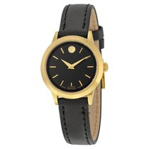 Movado 1881 Automatic Black Dial Gold Pvd Stainless Steel...