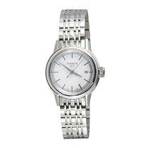 Tissot Women's Carson White Dials Stainless Steel Watch...