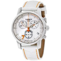 Tissot Prc 200 Danica Patrick Chronograph Diamond Ladies Watch...