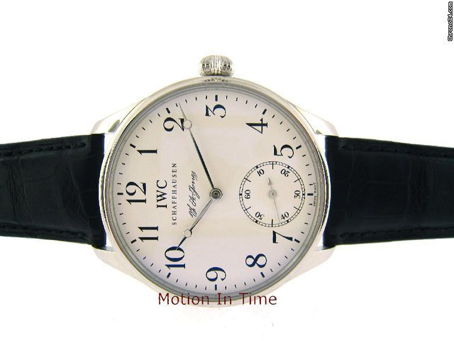 IWC Portuguese F.A. Jones Mens - Platinum - Limited 500 Pieces