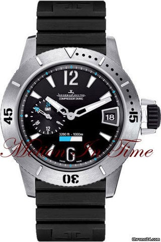 Jaeger-LeCoultre MASTER COMPRESSOR DIVING GMT TITANIUM LIMITED 1500 PIECES