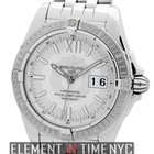 Breitling Windrider Cockpit Stainless Steel Silver Dial 41mm...