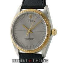 Rolex Oyster Perpetual Vintage Zephyr Steel & Gold Grey...