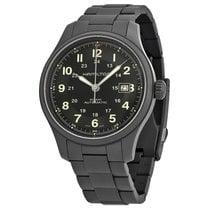 Hamilton Men's HML-H70565133 Khaki Field Black Dial Watch