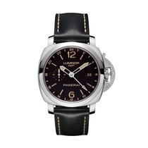 Panerai Luminor 1950 3 Days GMT 24H Automatic Acciaio Automati...
