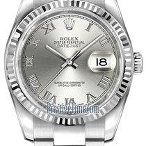 勞力士 (Rolex) Datejust 36mm Stainless Steel 116234 Rhodium Roman...