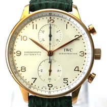 IWC PORTUGIESER CHRONOGRAPH in 18k / 750er Roségold Automatik