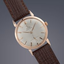 Omega 18ct Pink gold automatic 'bumper' Chronometer...