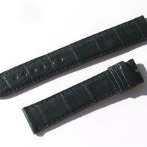 Chopard Croco Armband Blau Blue 17 Mm Für Dornschliesse 75/115...