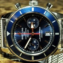 Breitling SuperOcean Heritage with Blue Dial Box / Booklets