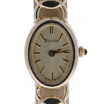 Bulova Vintage 95t20y  14k Yellow Gold