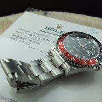 Rolex GMT MASTER 2 16710 Coke Red/Black Bezel with RSC Paper