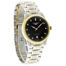 Longines Master Collection Mens Diamond Swiss Watch L2.628.5.57.7