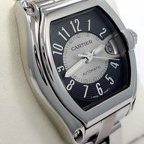 Cartier Roadster Large Size Stainless Steel Black & Silver...