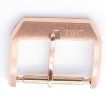 IWC Solid 18k Rose Gold Tang Buckle Only For 20mm Width Strap
