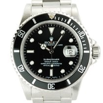 Rolex Submariner Stainless Steel Black Dial-16800