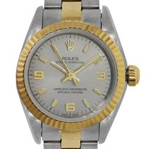 Rolex 76193 Oyster Perpetual Two Tone Ladies Watch