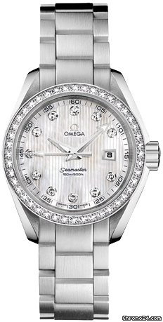 Omega Aqua Terra Ladies Quartz