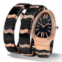 Bulgari Serpenti Spiga 35mm 18kt Rose Gold
