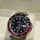 Rolex GMT MASTER2 NOS STICKEES FULL SET 16710 SERIE D ....RARE...