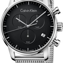 ck Calvin Klein City Chrono K2G27121 Herrenchronograph Swiss Made