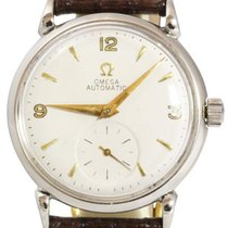 Omega Vintage Men's Steel Watch, Year 1947-1949, Silver...