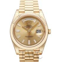 勞力士 (Rolex) Day-Date Champagne 18k Gold Dia 40mm - 228238